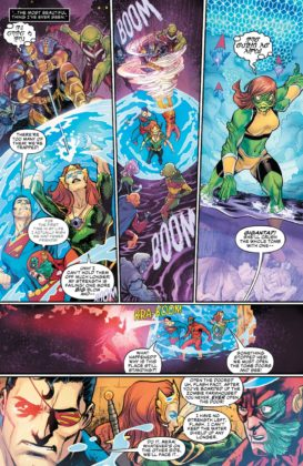 Preview VO - Aquaman/Justice League : Drowned Earth #1 5