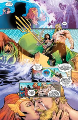 Preview VO - Aquaman/Justice League : Drowned Earth #1 6