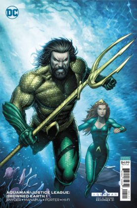 Preview VO - Aquaman/Justice League : Drowned Earth #1 7