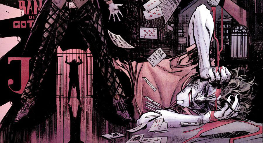 Review VF - Batman White Knight 1