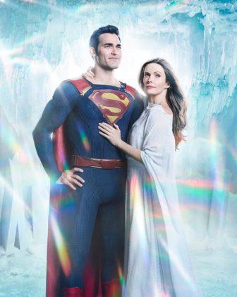 Elseworlds : Un poster façon comics et de premières images de Lois & Clark 3