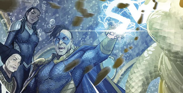 Review VF - Aquaman Rebirth Tome 3 : Underworld 2