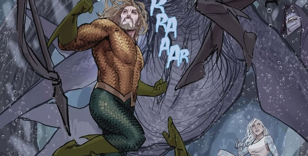 Review VF - Aquaman Rebirth Tome 3 : Underworld 1