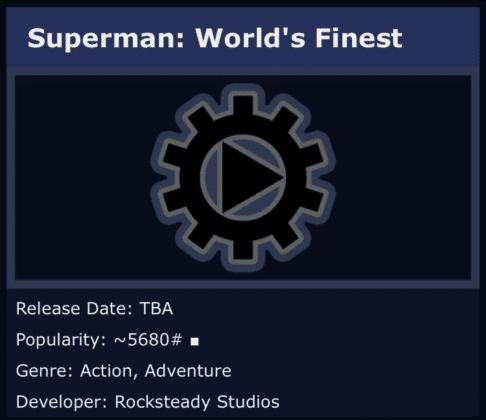 Aura-t-on droit à l'annonce d'un jeu Superman aux Game Awards 2018 ? 1