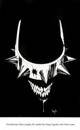 Découvrez une dizaine de variant covers pour The Batman Who Laughs #1 5