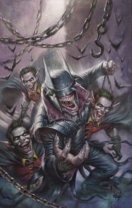 Découvrez une dizaine de variant covers pour The Batman Who Laughs #1 8