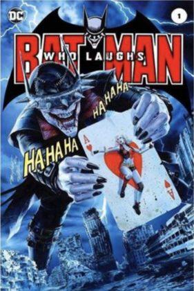 Découvrez une dizaine de variant covers pour The Batman Who Laughs #1 13