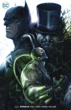 Découvrez toutes les variant covers des titres DC de décembre 2018 2