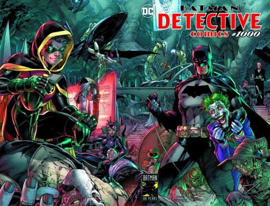 Plus de détails et des variant covers pour Detective Comics #1000 1