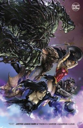 Découvrez toutes les variant covers des titres DC de décembre 2018 19