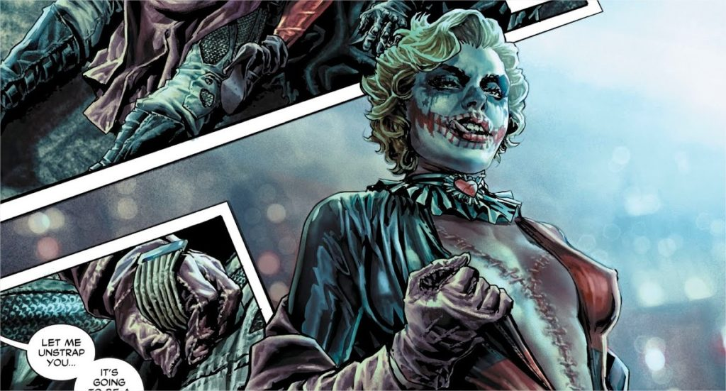 Review VO - Batman : Damned #2, Le Scandale 3