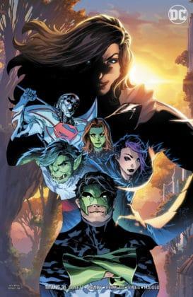 Découvrez toutes les variant covers des titres DC de décembre 2018 29