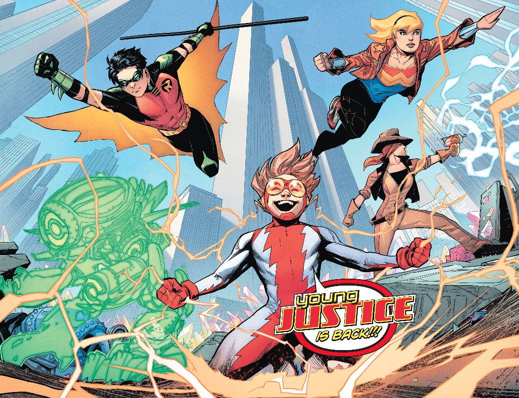Review VO - Young Justice #1 1
