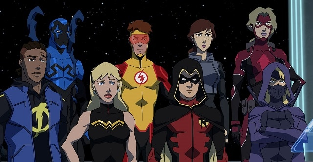 Review TV - Young Justice : Outsiders (3 premier épisodes) 1