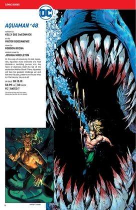 Ce qu'il faut retenir des sollicitations DC Comics de mai 2019 9