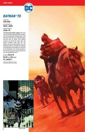 Ce qu'il faut retenir des sollicitations DC Comics de mai 2019 12