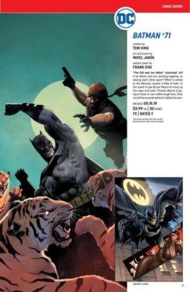 Ce qu'il faut retenir des sollicitations DC Comics de mai 2019 13
