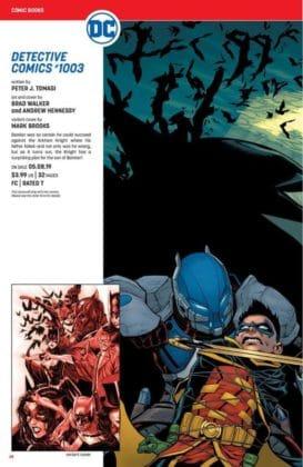 Ce qu'il faut retenir des sollicitations DC Comics de mai 2019 15
