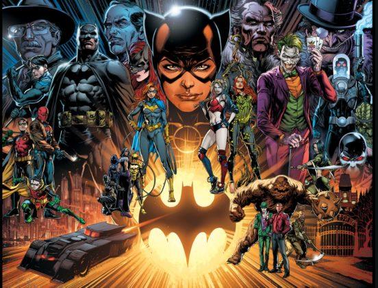 Detective Comics #1000 : le line-up complet et la fresque du Batman Universe par Jason Fabok dévoilés 1