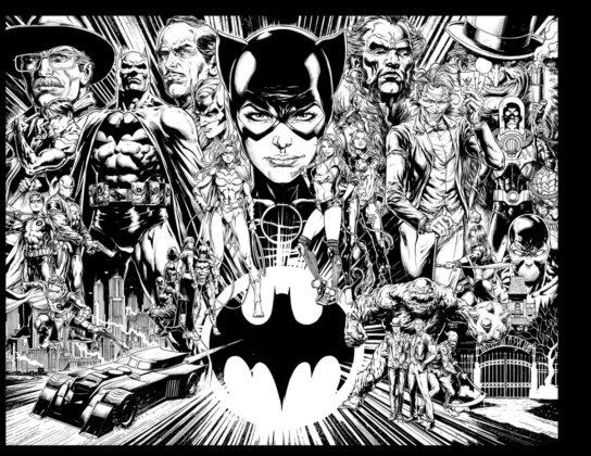 Detective Comics #1000 : le line-up complet et la fresque du Batman Universe par Jason Fabok dévoilés 2