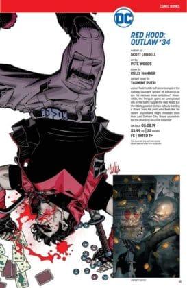 Ce qu'il faut retenir des sollicitations DC Comics de mai 2019 22