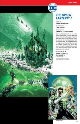 Ce qu'il faut retenir des sollicitations DC Comics de mai 2019 20
