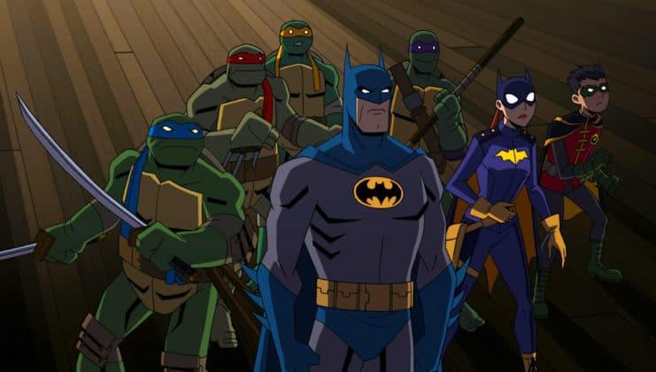 Un film animé Batman Vs. TMNT arrive au printemps 1