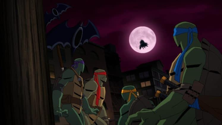 Un film animé Batman Vs. TMNT arrive au printemps 3