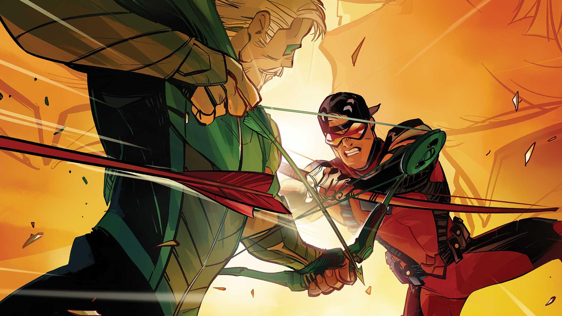 Review VF - Green Arrow Rebirth Tome 4 1