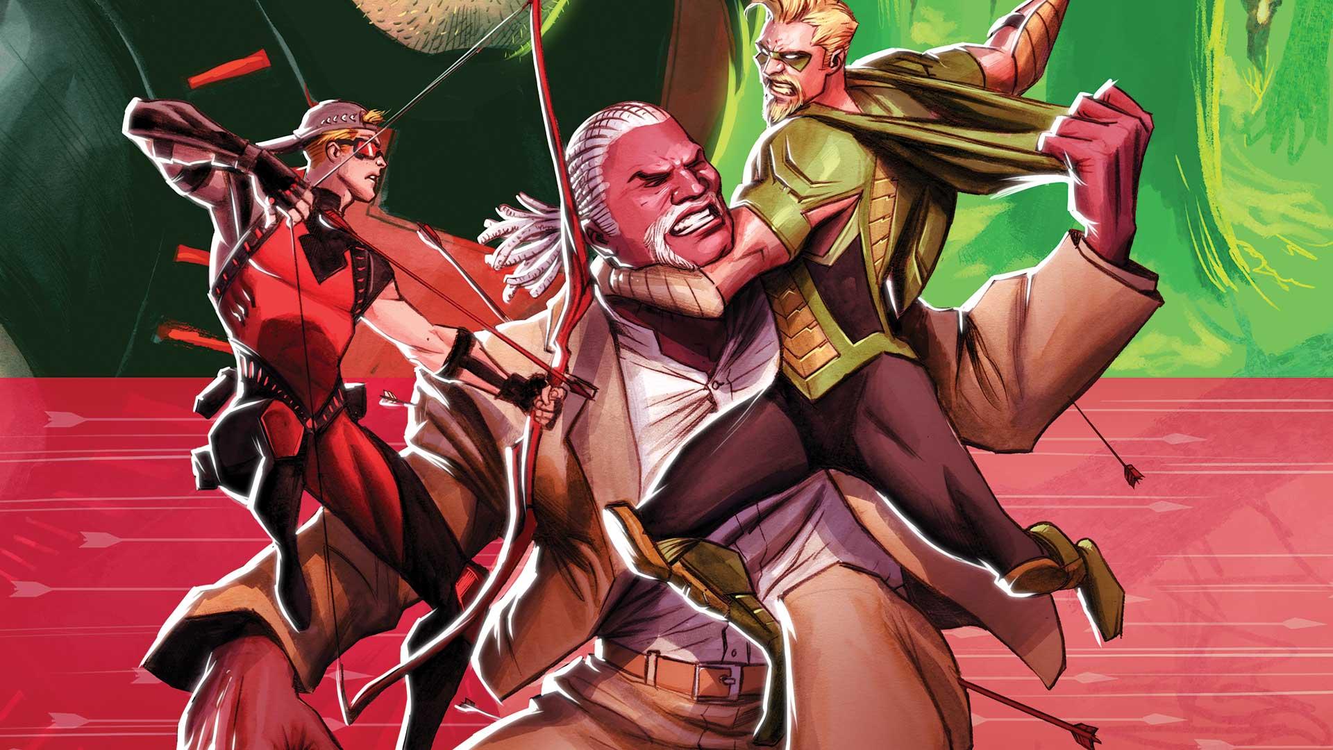 Review VF - Green Arrow Rebirth Tome 4 2