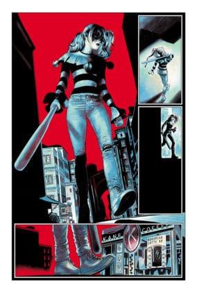 Coup d'oeil sur Harley Quinn: Breaking Glass