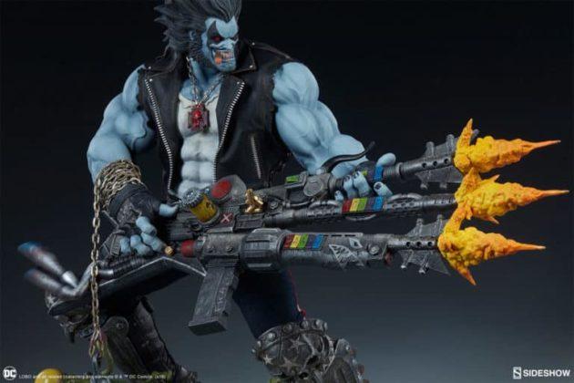 Sideshow présente une nouvelle statue Lobo 4