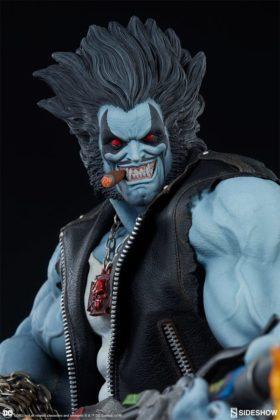 Sideshow présente une nouvelle statue Lobo 2
