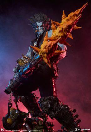 Sideshow présente une nouvelle statue Lobo 3