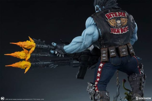 Sideshow présente une nouvelle statue Lobo 5