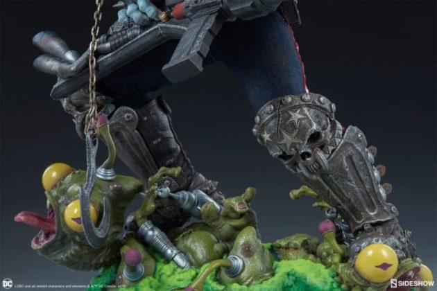 Sideshow présente une nouvelle statue Lobo 6