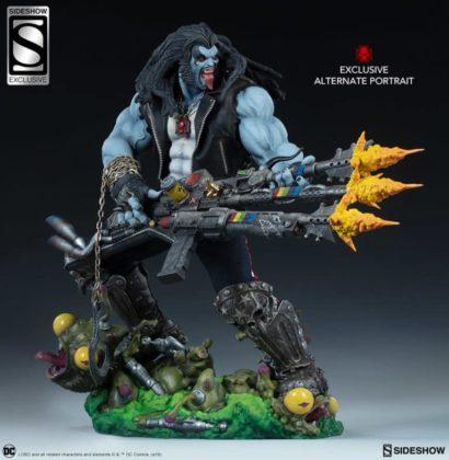 Sideshow présente une nouvelle statue Lobo 8