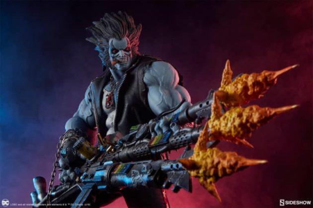 Sideshow présente une nouvelle statue Lobo 1