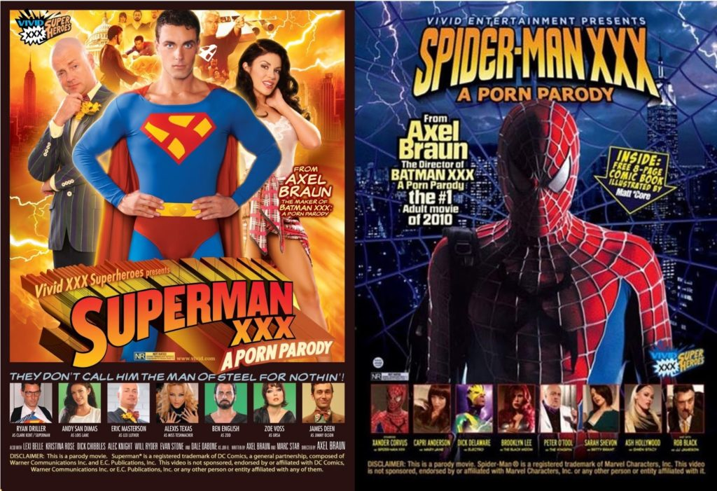 C for Crossover #36 : Superman vs. Spider-Man XXX: An Axel Braun Parody 1