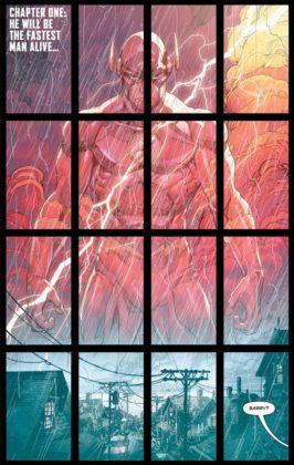 Découvrez les premières pages de The Flash Year One 1