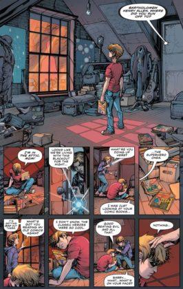 Découvrez les premières pages de The Flash Year One 2