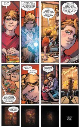 Découvrez les premières pages de The Flash Year One 3