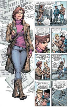 Découvrez les premières pages de The Flash Year One 5