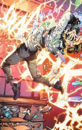 Découvrez les premières pages de The Flash Year One 6