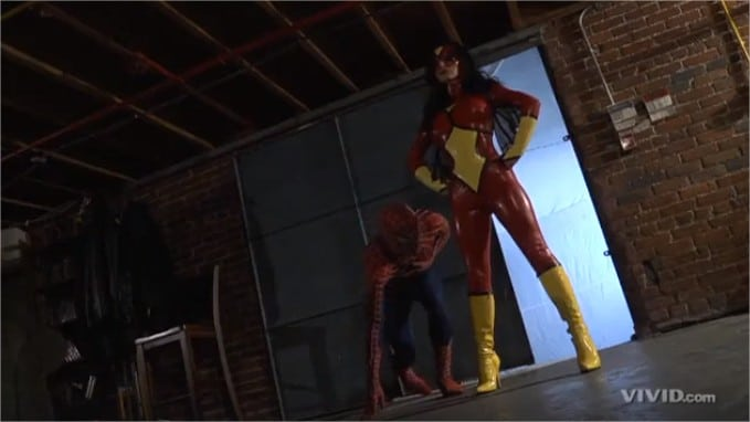 C for Crossover #36 : Superman vs. Spider-Man XXX: An Axel Braun Parody 39