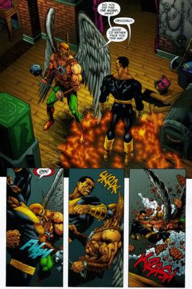 Hawkman, Atom Smasher et Stargirl serait de la partie pour le film Black Adam 3