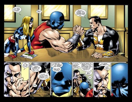 Hawkman, Atom Smasher et Stargirl serait de la partie pour le film Black Adam 2