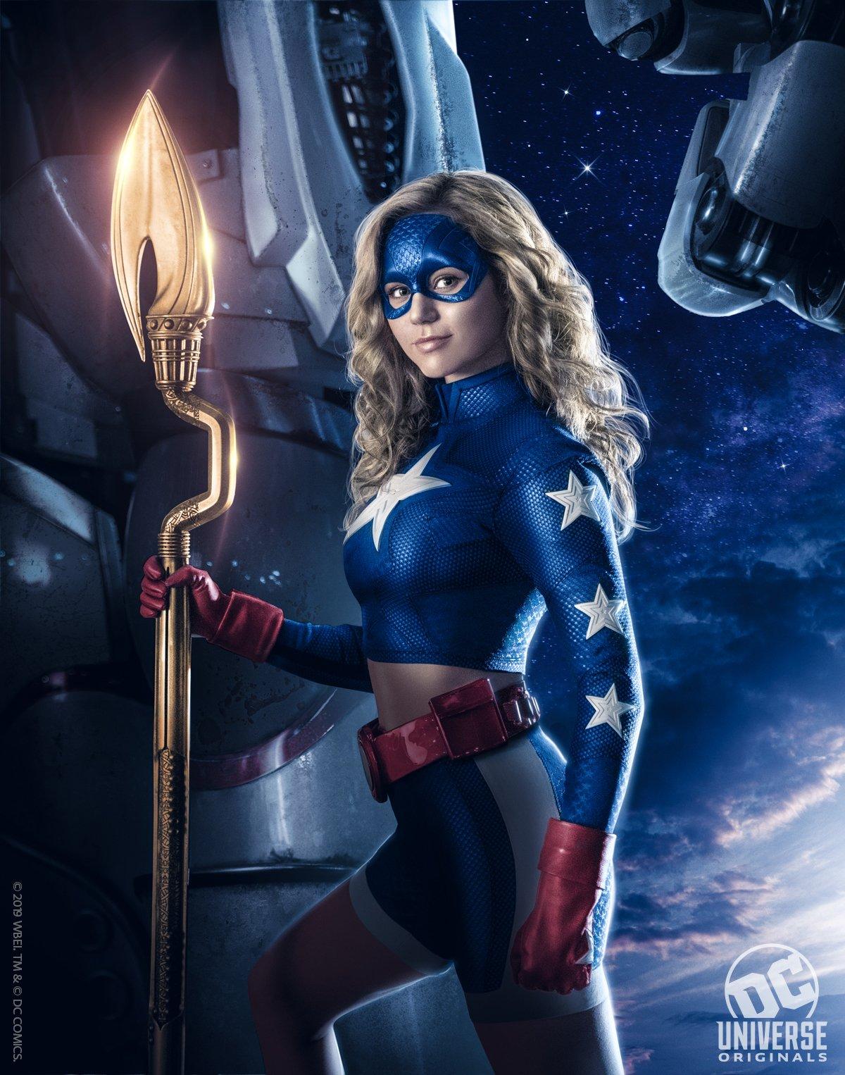 Première image de Stargirl et date pour Swamp Thing — DC Universe