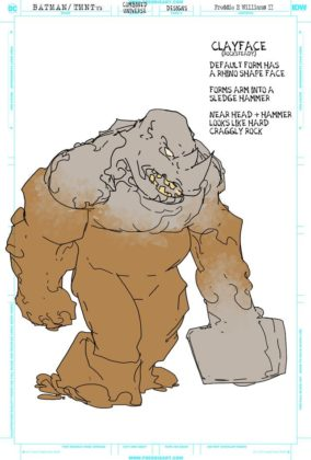 Tortues Ninja Clayface