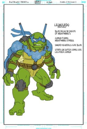 Tortues Ninja Nightwing